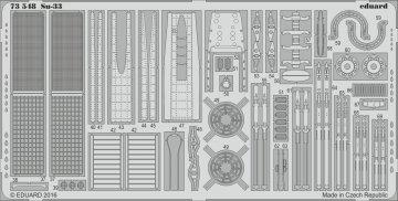 Russian Su-33 Flanker [Trumpeter] · EDU 73548 ·  Eduard · 1:72