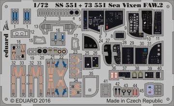 Sea Vixen FAW.2 [Cyber Hobby] · EDU 73551 ·  Eduard · 1:72