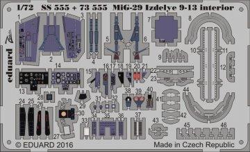MiG-29 Izdelye 9-13 [Zvezda] · EDU 73555 ·  Eduard · 1:72