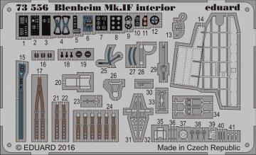 Bristol Blenheim Mk.IVF - Interior [Airfix] · EDU 73556 ·  Eduard · 1:72