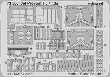 BAC Jet Provost T.3/T.3a [Airfix] · EDU 73566 ·  Eduard · 1:72