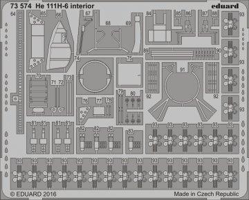 Heinkel He 111 H6 - Interior [Airfix] · EDU 73574 ·  Eduard · 1:72