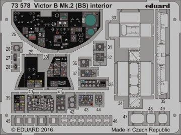 Handley Page Victor B Mk.2 (BS) - Interior [Airfix] · EDU 73578 ·  Eduard · 1:72