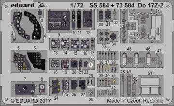 Dornier Do 17 Z-2 [ICM] · EDU 73584 ·  Eduard · 1:72