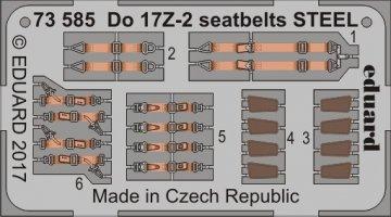 Dornier Do 17 Z-2 - Seatbelts STEEL [ICM] · EDU 73585 ·  Eduard · 1:72