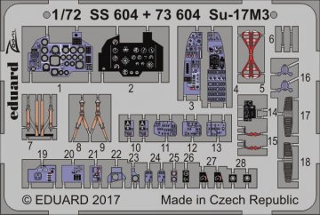 Sukhoi Su-17M3 [Modelsvit] · EDU 73604 ·  Eduard · 1:72