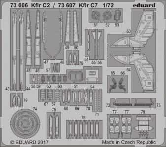 KFIR C2 [AMK] · EDU 73606 ·  Eduard · 1:72
