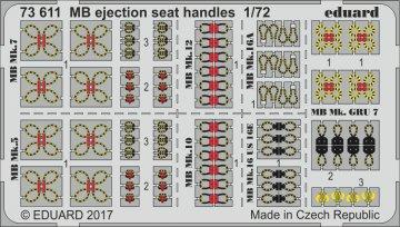 MB - Ejection seat handles · EDU 73611 ·  Eduard · 1:72