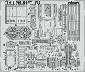 MiG-29SMT [Zvezda] · EDU 73613 ·  Eduard · 1:72