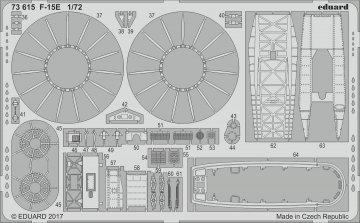 U.S. Ariforce F-15E [Great Wall Hobby] · EDU 73615 ·  Eduard · 1:72