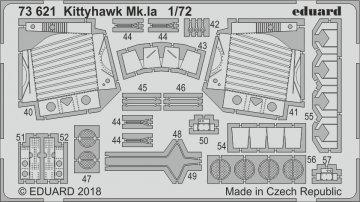 Kittyhawk Mk.IA - Photoätzteile [Special Hobby] · EDU 73621 ·  Eduard · 1:72