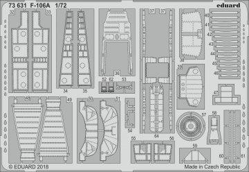 US F-106A Delta Dart [Trumpeter] · EDU 73631 ·  Eduard · 1:72