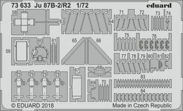 Junkers Ju 87 B-2/R-2 Stuka [Airfix] · EDU 73633 ·  Eduard · 1:72