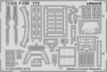 F-35B [Hasegawa] · EDU 73635 ·  Eduard · 1:72