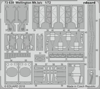 Vickers Wellington Mk.Ia/c [Airfix] · EDU 73639 ·  Eduard · 1:72