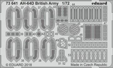 AH-64D British Army [Academy] · EDU 73641 ·  Eduard · 1:72