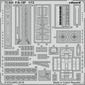 F/A-18F [Academy] · EDU 73643 ·  Eduard · 1:72