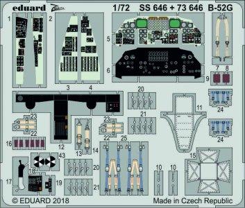 B-52G Stratofortress - Interior [Modelcollect] · EDU 73646 ·  Eduard · 1:72