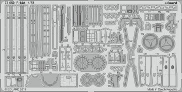 F-14A [Fine Molds] · EDU 73650 ·  Eduard · 1:72