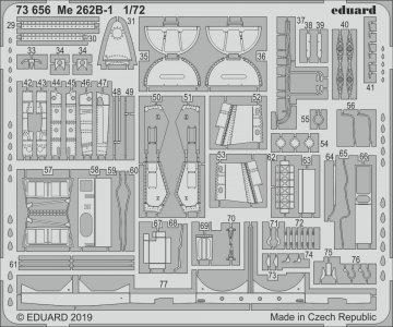 Messerschmitt Me 262 B-1 [Airfix] · EDU 73656 ·  Eduard · 1:72