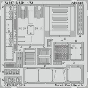 B-52H Stratofortress strategic Bomber - Interior [Modelcollect] · EDU 73657 ·  Eduard · 1:72
