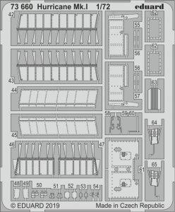 Hurricane Mk.I [Airfix] · EDU 73660 ·  Eduard · 1:72