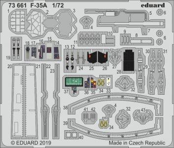 F35A Lighting II [Hasegawa] · EDU 73661 ·  Eduard · 1:72