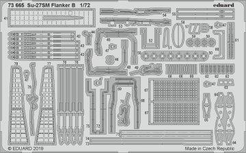Su-27SM Flanker B [Zvezda] · EDU 73665 ·  Eduard · 1:72