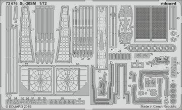 Su-30SM [Zvezda] · EDU 73676 ·  Eduard · 1:72