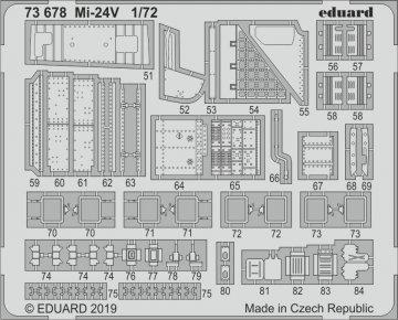 Mi-24V [Zvezda] · EDU 73678 ·  Eduard · 1:72