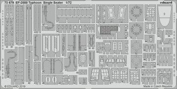 EF-2000 Typhoon Single Seater [Revell] · EDU 73679 ·  Eduard · 1:72