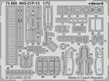 MiG-21F-13 [Modelsvit] · EDU 73680 ·  Eduard · 1:72