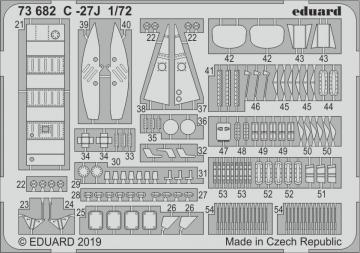 C-27J Spartan [Italeri] · EDU 73682 ·  Eduard · 1:72