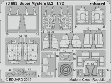 Super Mystere B.2 [Special Hobby] · EDU 73683 ·  Eduard · 1:72