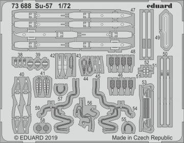 Sukhoi Su-57 [Zvezda] · EDU 73688 ·  Eduard · 1:72