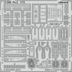 Petlyakov Pe-2 [Zvezda] · EDU 73689 ·  Eduard · 1:72
