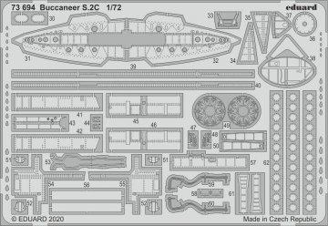 Buccaneer S.2C [Airfix] · EDU 73694 ·  Eduard · 1:72