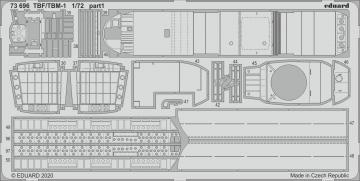 TBF/TBM-1 Avenger [Hasegawa] · EDU 73696 ·  Eduard · 1:72