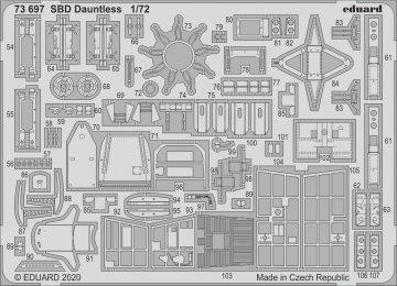SBD Dauntless [Hasegawa] · EDU 73697 ·  Eduard · 1:72