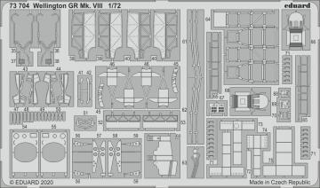 Wellington GR Mk.VIII [Airfix] · EDU 73704 ·  Eduard · 1:72