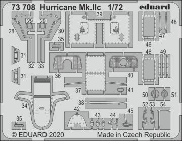 Hurricane Mk.IIc [Arma Hobby] · EDU 73708 ·  Eduard · 1:72