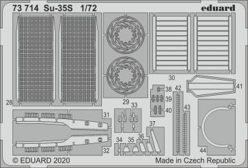 Su-35S [Great Wall Hobby] · EDU 73714 ·  Eduard · 1:72