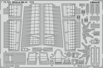 Wildcat Mk.VI [Arma Hobby] · EDU 73723 ·  Eduard · 1:72