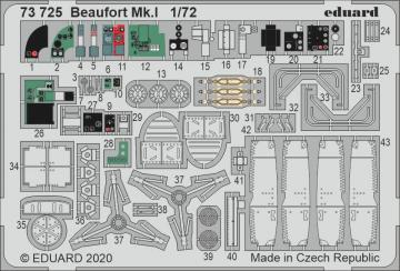 Beaufort Mk.I [Airfix] · EDU 73725 ·  Eduard · 1:72