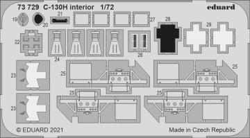 C-130H Hercules - Interior [Zvezda] · EDU 73729 ·  Eduard · 1:72