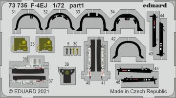 F-4EJ [Fine Molds] · EDU 73735 ·  Eduard · 1:72