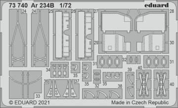 Arado Ar 234B [Dragon] · EDU 73740 ·  Eduard · 1:72