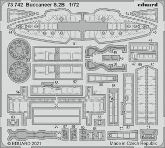 Buccaneer S.2B [Airfix] · EDU 73742 ·  Eduard · 1:72