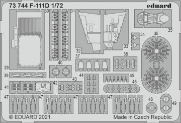 F-111D [Hobby 2000] · EDU 73744 ·  Eduard · 1:72