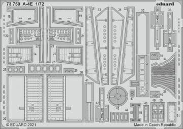 A-4E Skyhawk [Hobby2000] · EDU 73750 ·  Eduard · 1:72